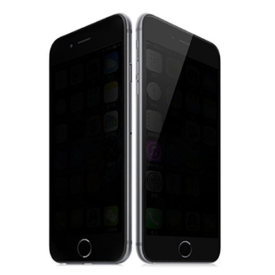 【TOYSELECT】iPhone Xs Max 極光學10D防窺/抗指紋/防刮玻璃膜