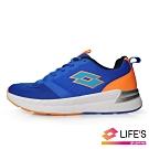 LOTTO 義大利 童 LIGHT FLY 輕量跑鞋 (藍)