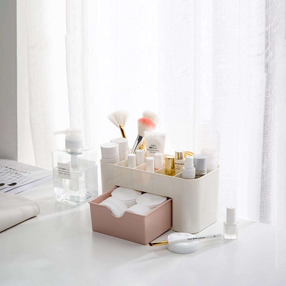 【Cap】質感化妝品抽屜收納盒