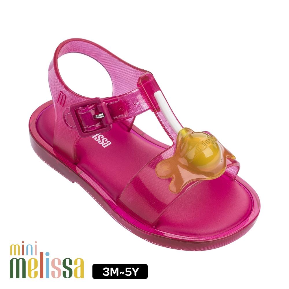 Melissa 融化棒棒糖造型涼鞋 寶寶款 桃紅