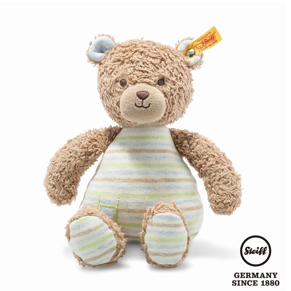 STEIFF德國金耳釦泰迪熊  GOTS Rudy Teddy Bear  可愛小熊 (嬰幼兒玩偶)