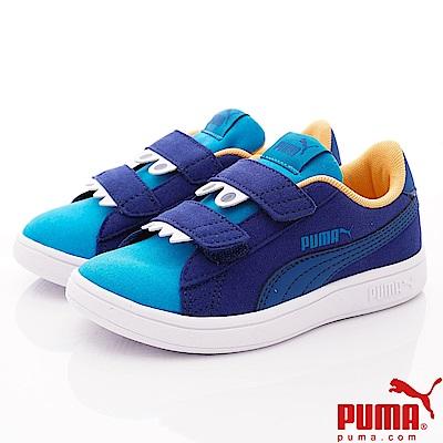 PUMA童鞋 MONSTER休閒款 TH69680-01藍(中小童段)