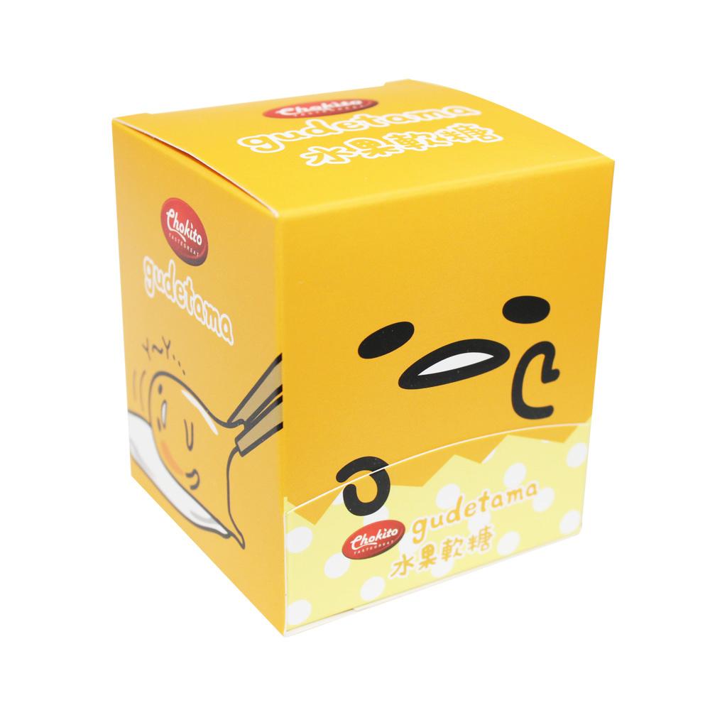 巧趣多蛋黃哥綜合水果軟糖塊-方正啊(56g)