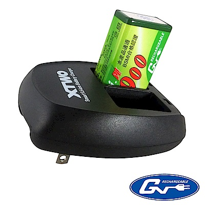 GN 9V鋰電充電池組 GN9VXTWO