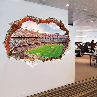半島良品 DIY無痕壁貼-世界杯觀眾席 XH9305 60x90cm