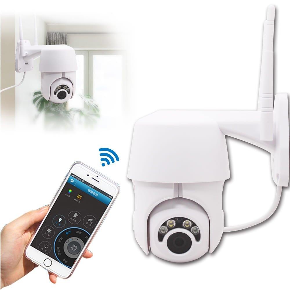 EC76 無線WiFi雙天線1080P高畫質監控攝影機