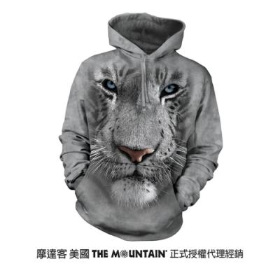 摩達客 美國進口The Mountain 白虎臉  長袖連帽T恤