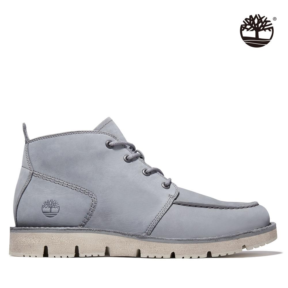 Timberland 男款灰色Westmore磨砂革查卡靴|A41Z9