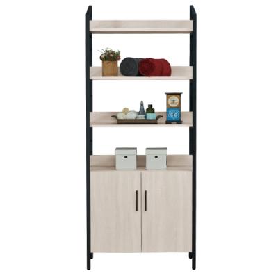 H&D 伊凡卡2.7尺雙門架櫃