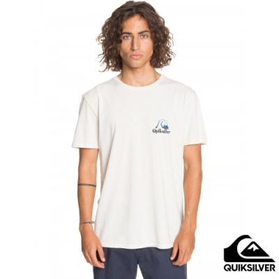 【QUIKSILVER】FLOW RIDE SS 針織T恤 白色