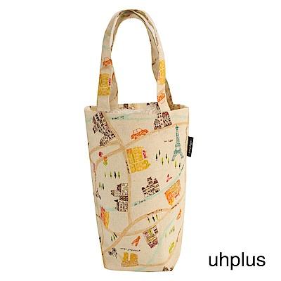 uhplus Love Life 隨行環保飲料袋(長版) - 巴黎散策