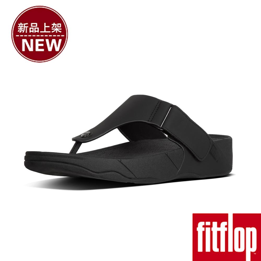 FitFlop TRAKK II NEOPRENE TOE-THONG-黑色