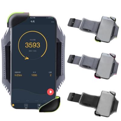 Maleroads 通用款運動臂帶 適用4吋~6.8吋手機 夾扣式設計 拿取快速 臂包