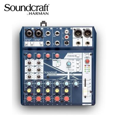 Soundcraft Notepad-8FX 混音器