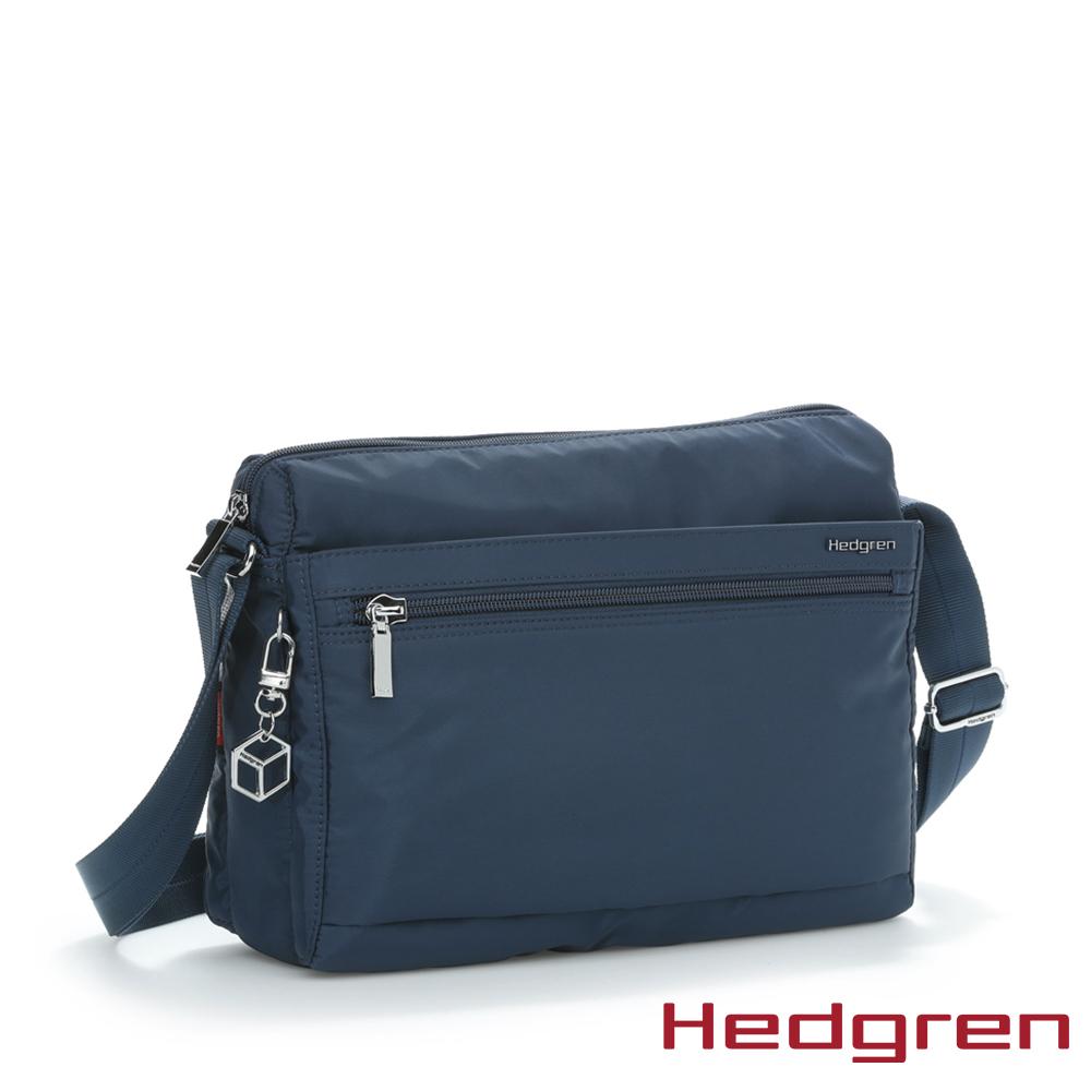 【Hedgren】藍多層收納斜背包 - HIC176M EYE
