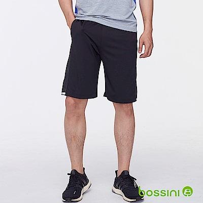 bossini男裝-ZtayDry針織短褲02黑