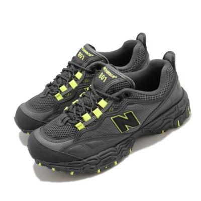 New Balance 慢跑鞋 ML801NCZ D 運動 男鞋 紐巴倫 舒適 避震 球鞋 穿搭 灰 黃 ML801NCZD