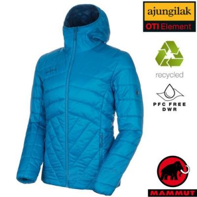 長毛象 男新款 Rime IN Hooded 超輕量化纖保暖連帽外套_藍寶石