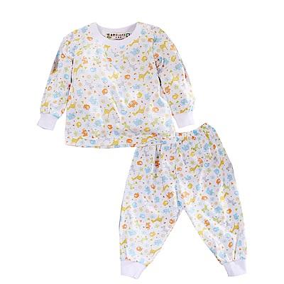 印花薄長袖居家套裝 k50683 魔法Baby