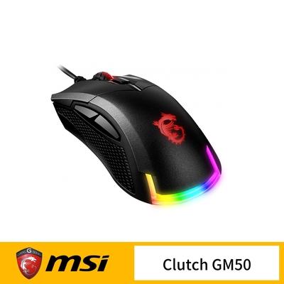 MSI 微星 MSI Clutch GM50 電競滑鼠