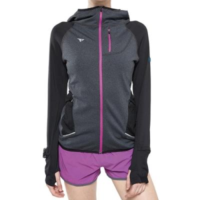 SUPERACE 內刷毛保暖層跑步外套2.0版 / 女款 / 黑色