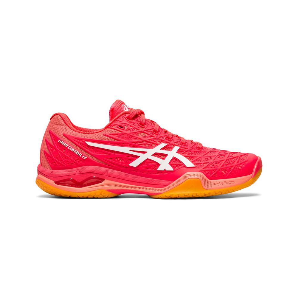 ASICS Court Control ff 羽球鞋 女 (紅)