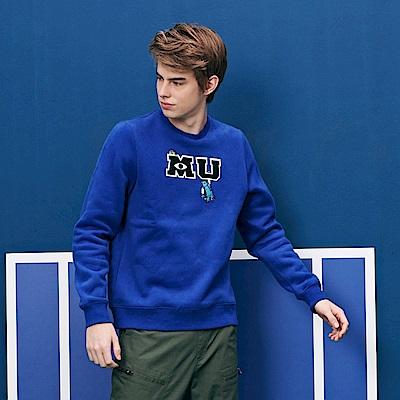 CACO-怪獸大學刷毛T-情侶款(兩色)-男【QDI045】