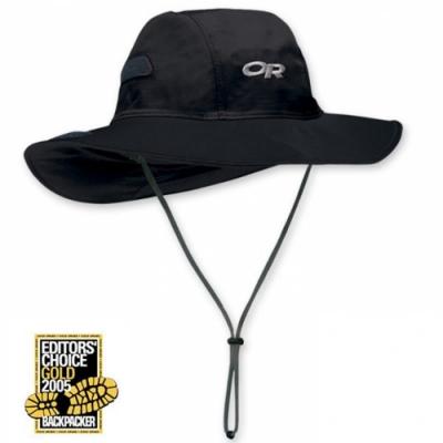 Outdoor Research OR GTX Seattle Sombrero 熱賣 防水透氣防風牛仔大盤帽子_黑