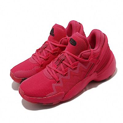 adidas 籃球鞋 D O N ISSUE 2 GCA 男鞋 愛迪達 Crayola 蠟筆 米邱 二代 紅色 FW9039