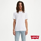 Levis 男款 2件組短袖T恤 修身版型 白素T