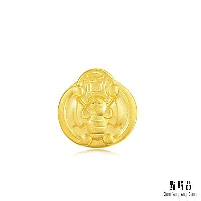 點睛品 Charme 文化祝福 福在眼前 黃金串珠
