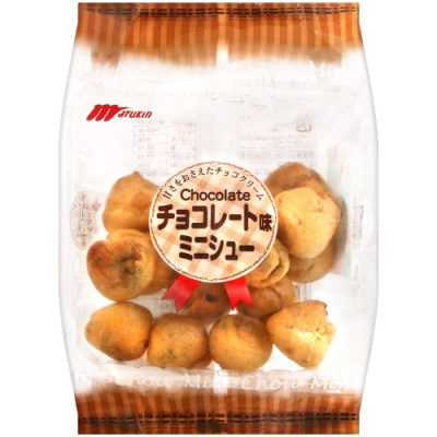Marukin丸金 巧克力風味小泡芙(63g)