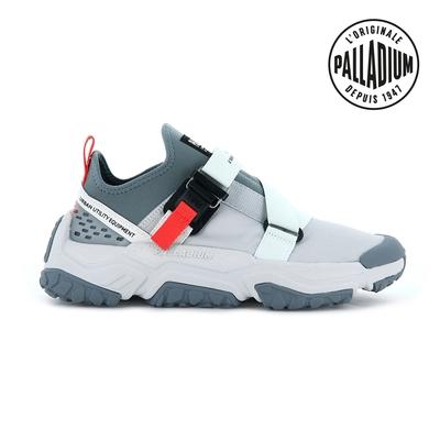 PALLADIUM OFF-GRID LO UTILITY快穿輕量輪胎潮鞋(扣帶)-中性-灰