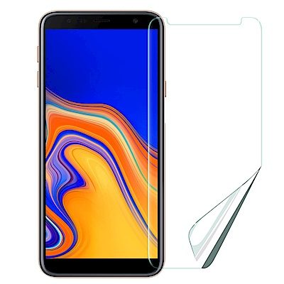 Xmart  for Samsung Galaxy J4+ 高透光亮面耐磨保護貼