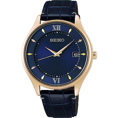 SEIKO 精工SPIRIT聖誕限量太陽能鈦金屬腕錶(SBPX116J)