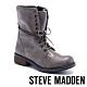 STEVE MADDEN-TROOPA 2.0經典中性軍靴款真皮高筒靴-棕色 product thumbnail 1