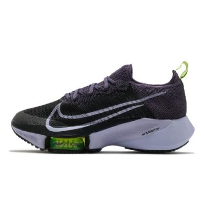 NIKE AIR ZOOM TEMPO NEXT% FK 女慢跑鞋-黑紫-CI9924500