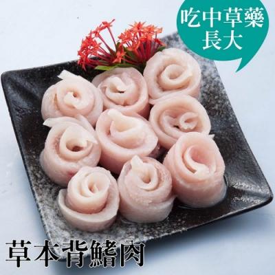 台江漁人港‧草本背鰭肉(5兩/包,共二包)