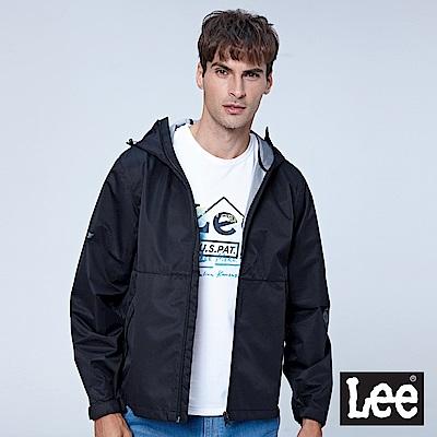 Lee UR防潑水外套-黑色