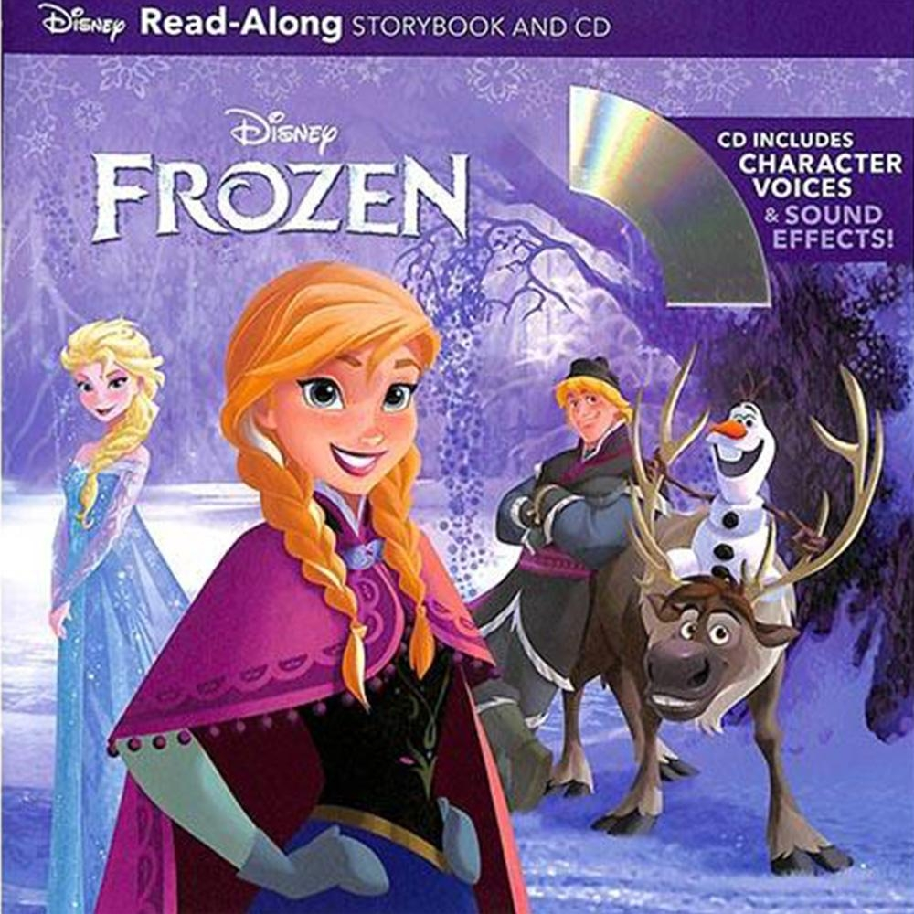 Frozen 冰雪奇緣聲讀本(CD一入)