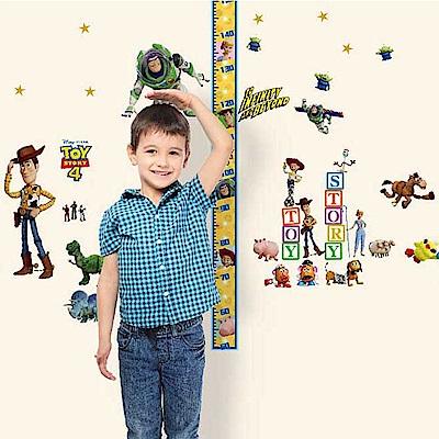 【itaste小品味】玩具總動員系列身高壁貼