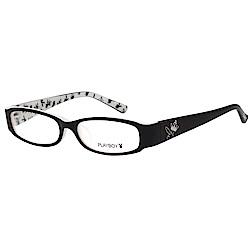 PLAYBOY-時尚光學眼鏡-黑色-PB85038