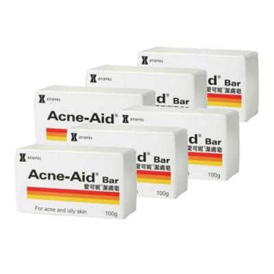Acne-Aid 愛可妮 潔膚皂6入特惠組 (100g x 6)