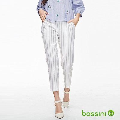 bossini女裝-彈性修身褲04乳白