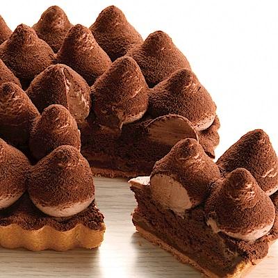 (滿7件)亞尼克 6吋派塔-松露巧克力