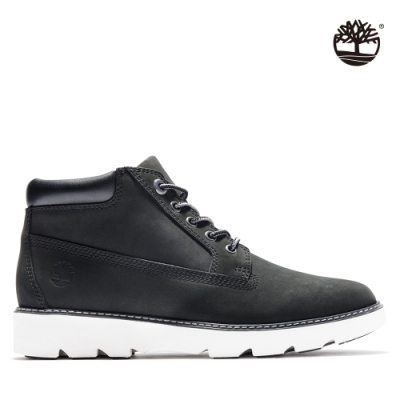 Timberland 女款黑色磨砂革休閒短靴|A26K9