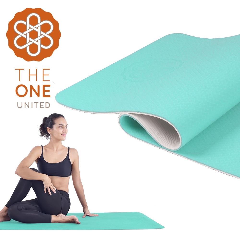 【The One】環保TPE雙色瑜珈墊 6mm