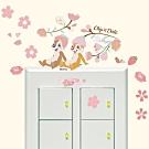 itaste小品味 BID139 奇奇蒂蒂系列開關壁貼-櫻花花栗鼠