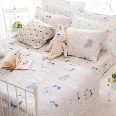 OLIVIA PUSSY 加大雙人床包涼被四件組 230織天絲TM萊賽爾 台灣製