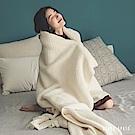 葉月 混色織紋披毯 / 彈Q小絨棉 (多款任選)